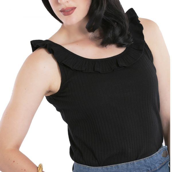 Top, YOLANDA Black (60038)
