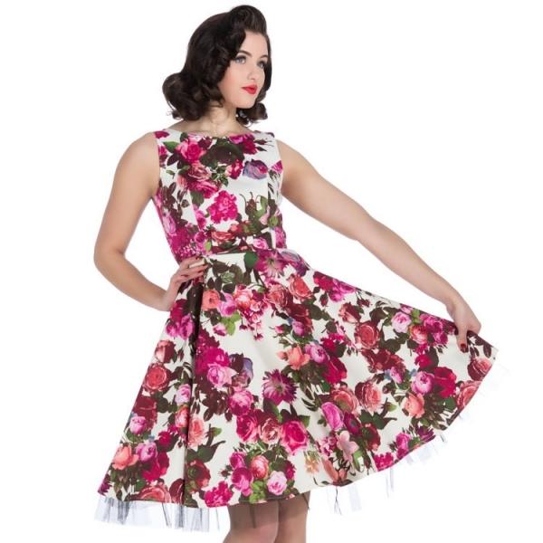 Kellomekko, HR Audrey 50s Floral (9347)