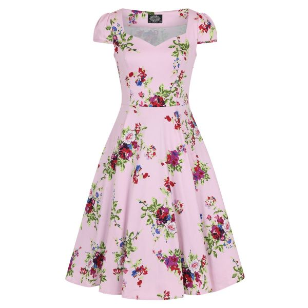 Swing Dress, HR Royal Ballet Pink (9836)