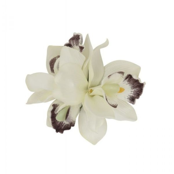 Hair flower, AALIYAH ORCHID White