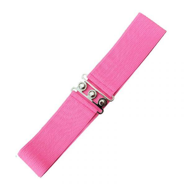 Belt, Vintage Stretch Pink