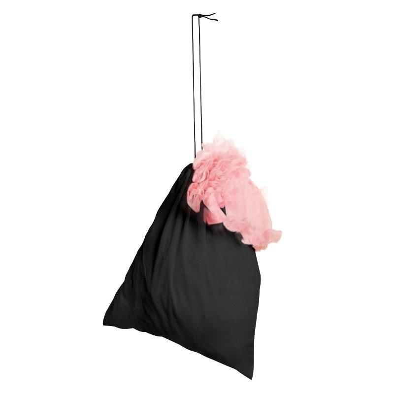 Petticoat -pussi, musta