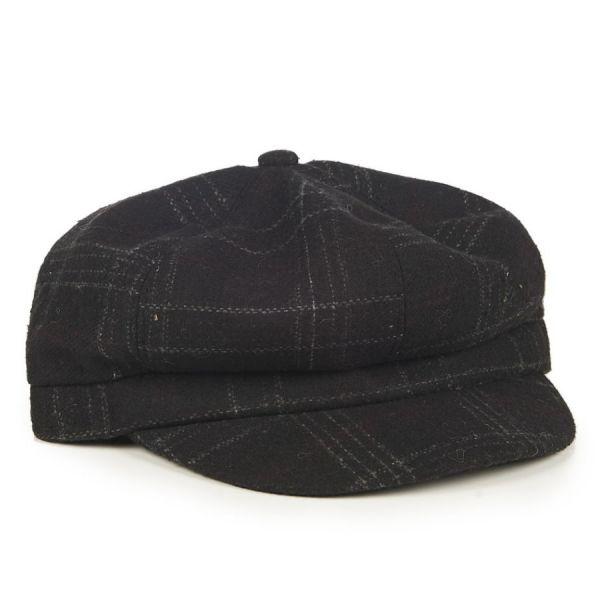 Hattu, NEWSBOY Black (2439)