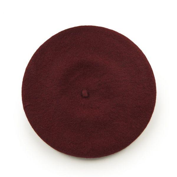 Beret Hat, Vintage Claire Burgundy