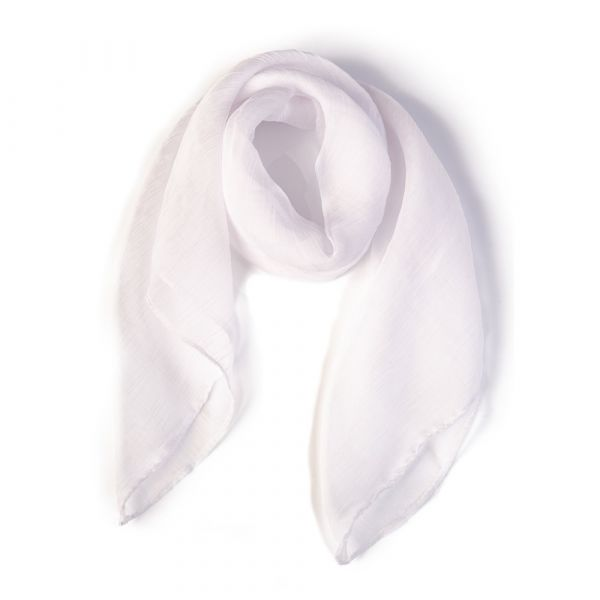 Scarf, BANNED White