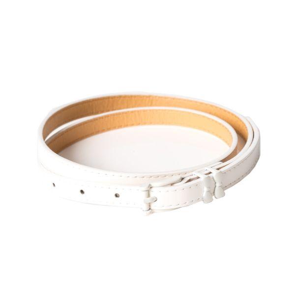 Belt, COME BACK white (2273)