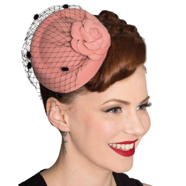 Fascinator, MARILYN Pink (AC2279)
