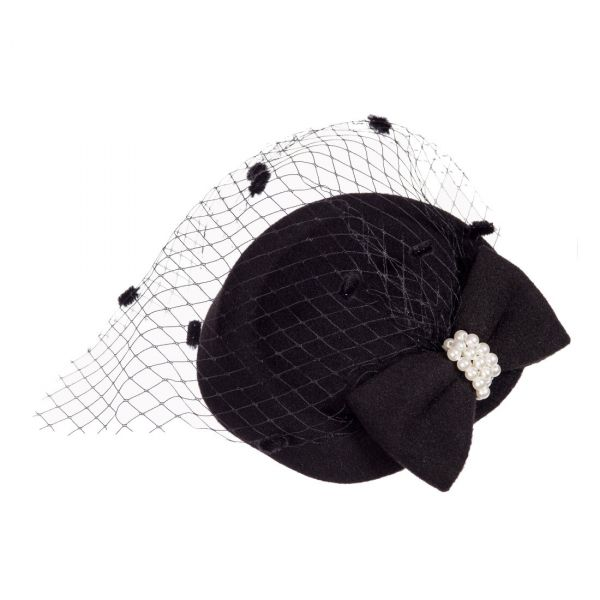 Fascinator, JUDY Black (AC2332)