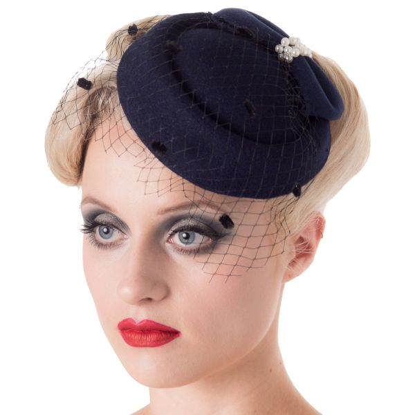 Fascinator, JUDY Navy (AC2332)