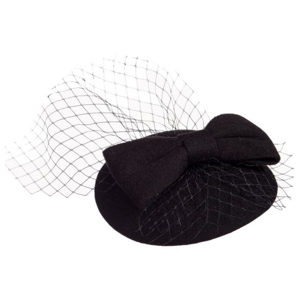Fascinator, CANDICE Black (AC2333)