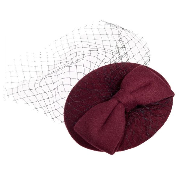 Fascinator, CANDICE Bordeaux (AC2333)