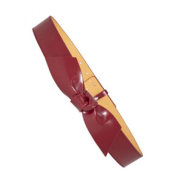 Belt, HELENE BOW Burgundy (45309)