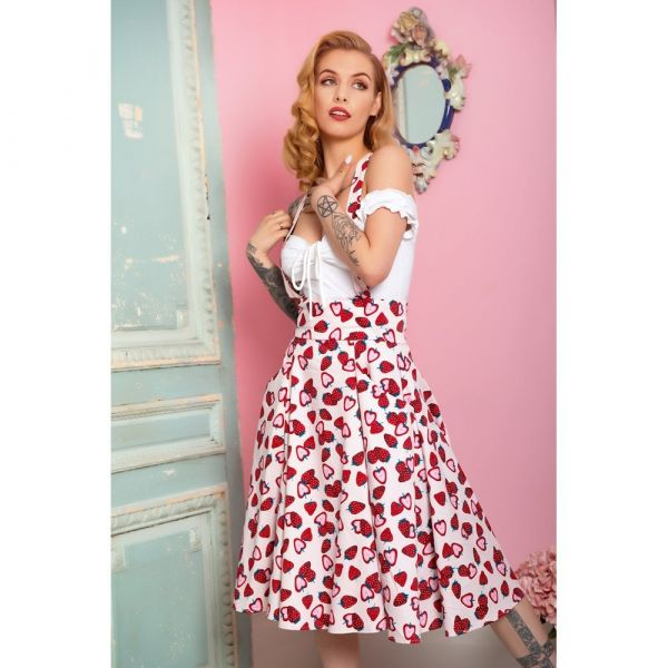 Swing Skirt, ALEXA Strawberry