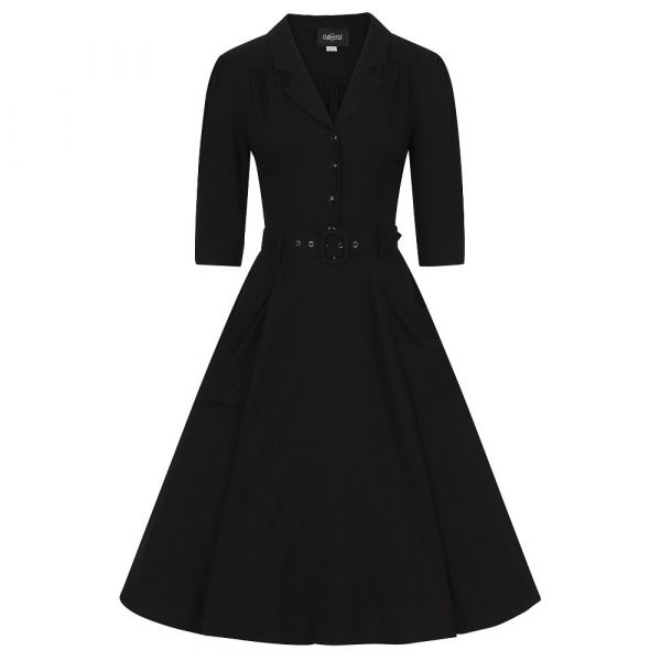 Swing Dress, ALEXANDRIA Black