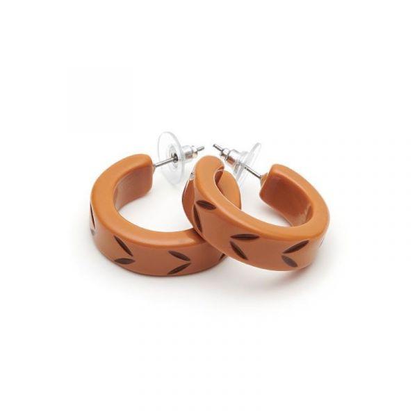 Earrings, SPLENDETTE Almond Hoop