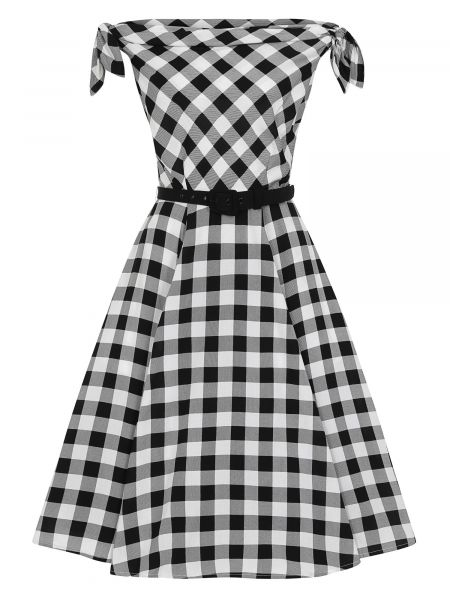 Swing Dress, GIORDANA Gingham