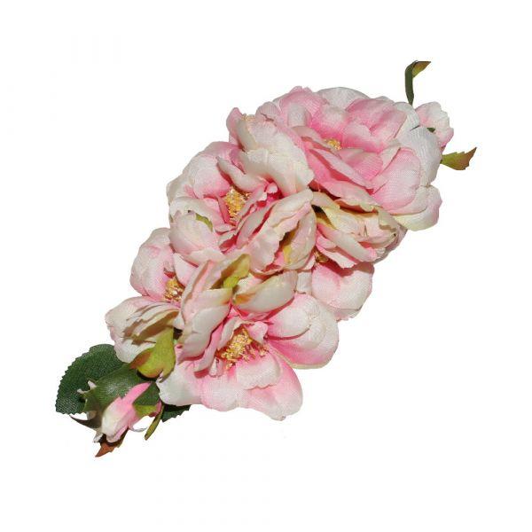Hair Flower, AMELIA Baby Pink