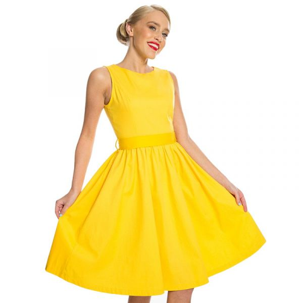 Swing Dress, AUDREY Buttercup