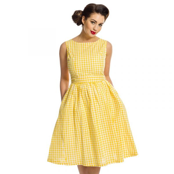 Swing Dress, AUDREY Sunny Gingham