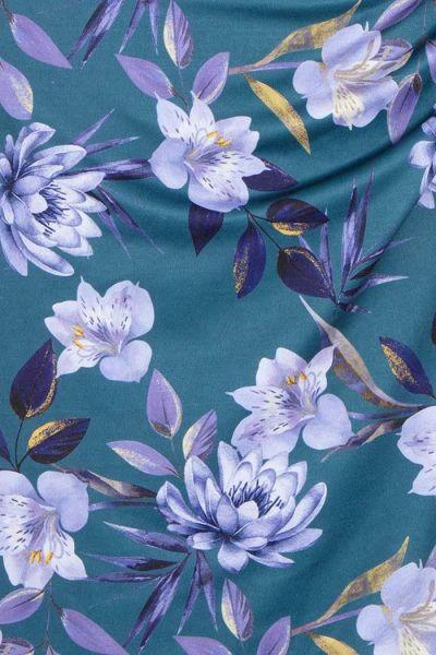 Kynämekko, ELSIE Teal Lotus Flower