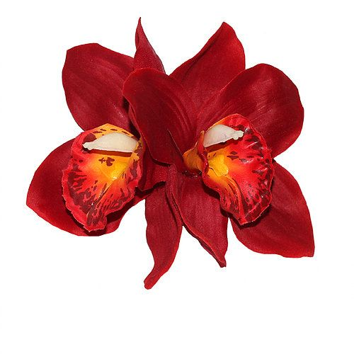 Hiuskoriste, GINGER Double Red Orchid