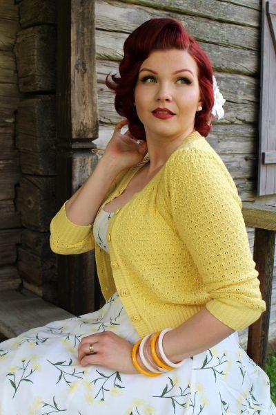 MAK Neuletakki, Pat 50s Baby Yellow