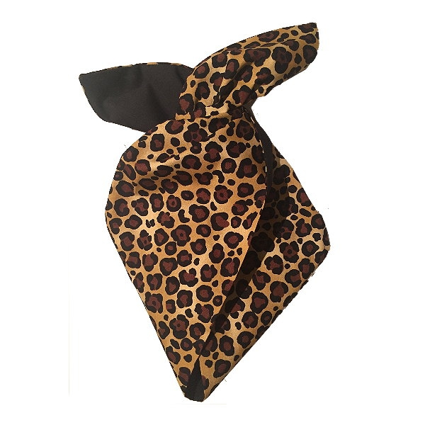 Hairband, BE BOP Leopard/Blk