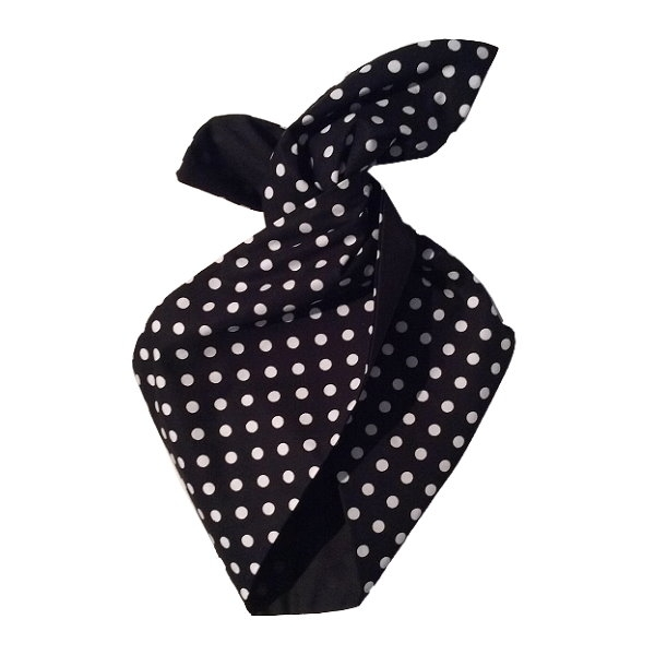 Hairband, BE BOP Polkadot/Black