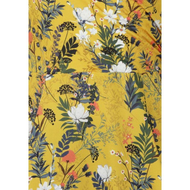 Kellomekko, LADY V ESME Canary Floral