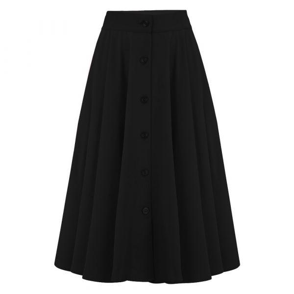 Swing Skirt, ROCK'N ROMANCE Beverly Black