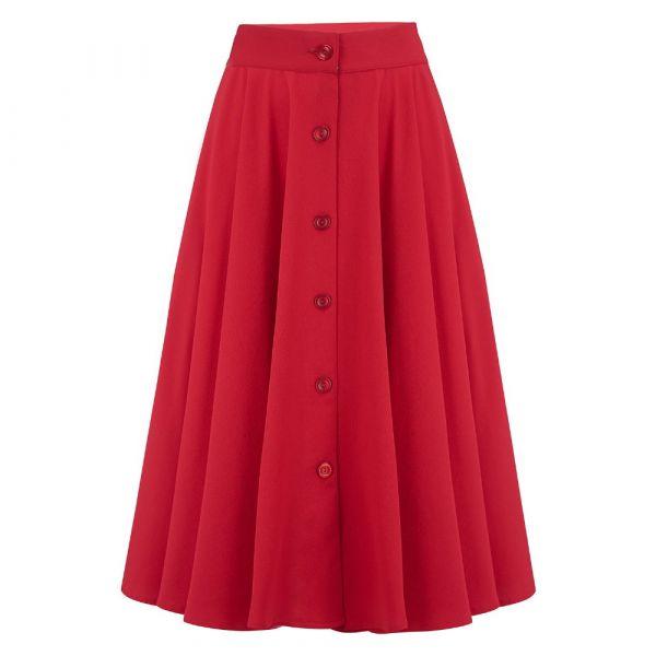 Swing Skirt, ROCK'N ROMANCE Beverly Red