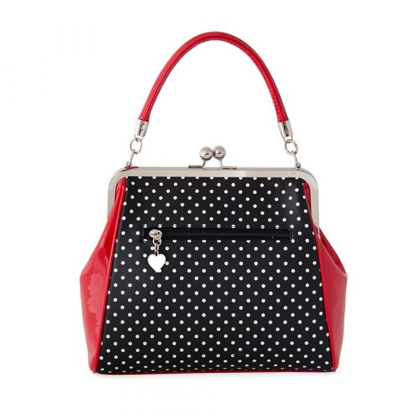 Bag, POLKA STARR Black (34195)