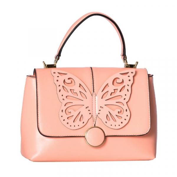 Laukku, PAPILIO Vaaleanpunainen (BG7235)