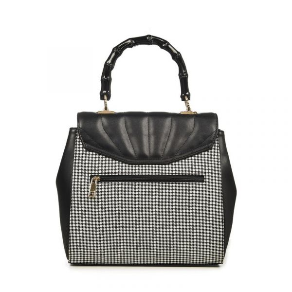 Bag, BAMBOO LUX Houndstooth (BG7303)