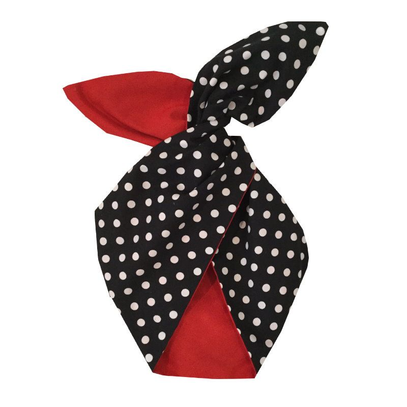 Hiuspanta, BE BOP Minnie Black Polka/Red