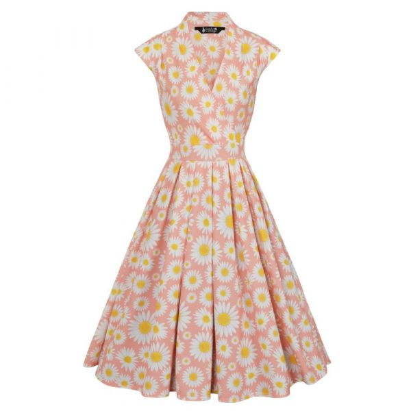Swing Dress, EVA Blush Daisy