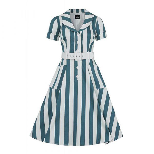 Swing Dress, BRETTE Glade Stripe