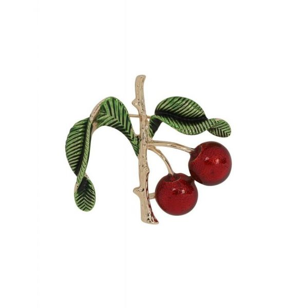 Brooch, Cherry Branch