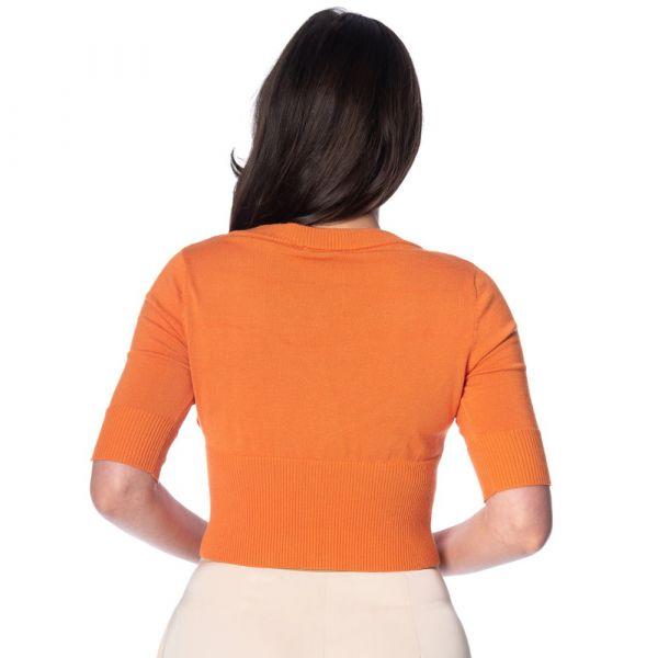 Neuletakki, TIKI FLORAL Orange (21006)