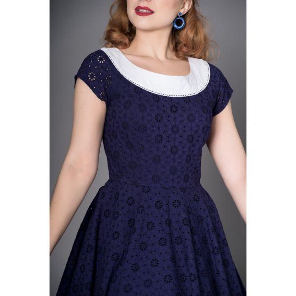 Swing Dress, CARLA Navy (8204)