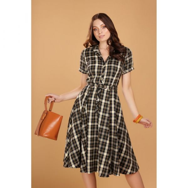 Swing Dress, CATERINA Geek Check