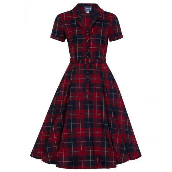 Swing Dress, CATERINA Ginsburg Check