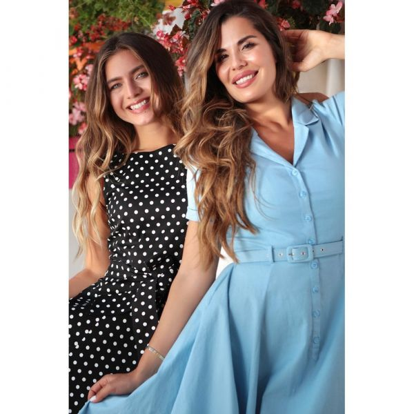 Swing Dress, CATERINA Light Blue