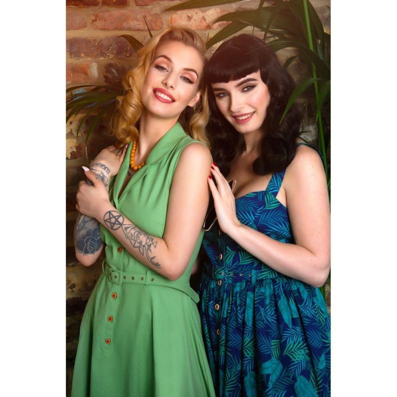 Kellomekko, CATERINA Sleeveless Green