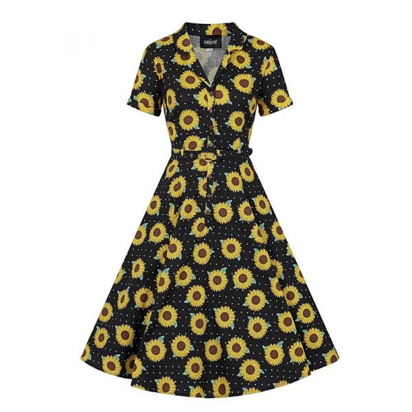 Swing Dress, CATERINA Sunflower