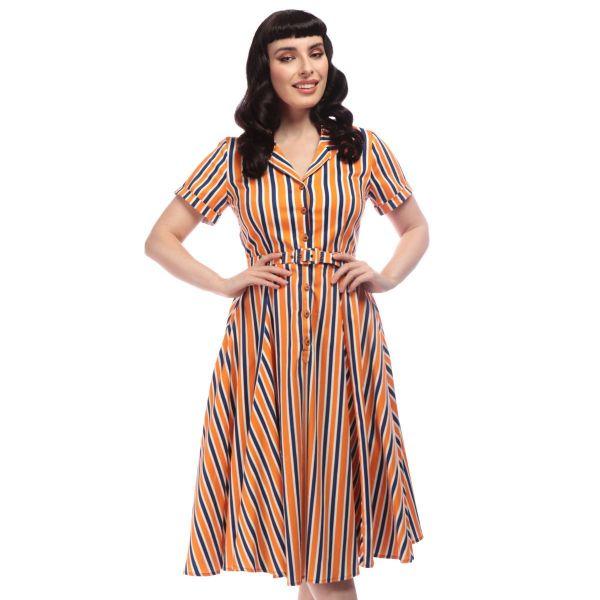 Swing Dress, CATERINA Bay Stripe