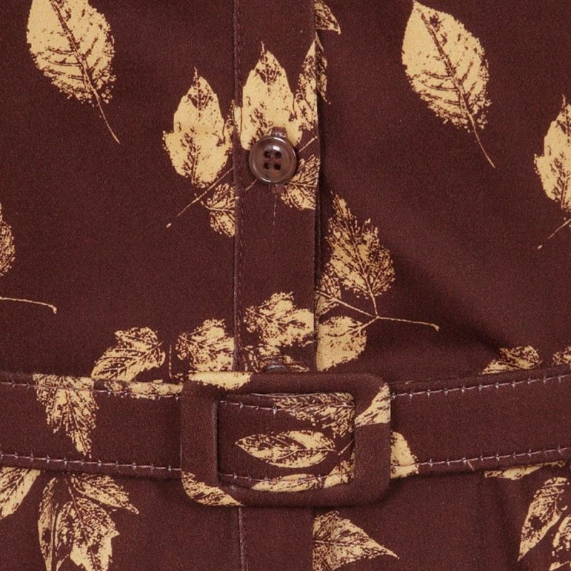 Kellomekko, CATERINA Leaves Brown