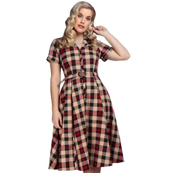 Swing Dress, CATERINA McKenzie Check