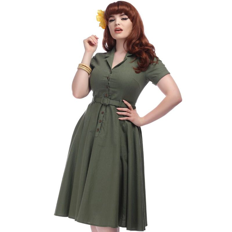 d7d9814bd6ef6 Swing Dress, CATERINA OLIVE - Dressy