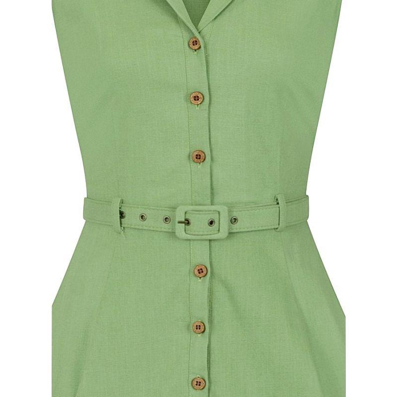 Swing Dress, CATERINA Sleeveless Green